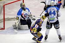 Zlínští hokejisté odehráli ve čtvrtek 15. března čtvrtý čtvrtfinálový zápas Tipsport Extraligy s plzeňskými Indiány.