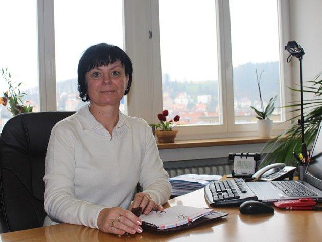 Marie Semelová, starostka Luhačovice 2014