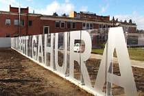 Nové oplocení Baťovy nemocnice ve Zlíně