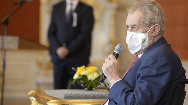 Miloš Zeman - Prezident Miloš Zeman (na snímku z 28. dubna 2021)
