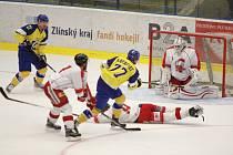 Hokejisté Aukro Berani Zlín v prvním domácím přípravném zápase přivítali Olomouc.
