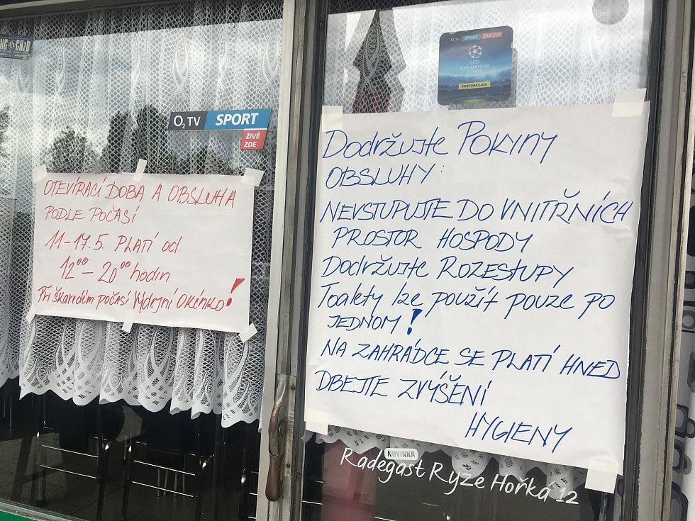 Restaurace Petka v Otrokovicích.