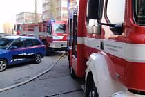 Požár odsávání vzduchotechniky ve Svitu