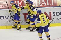 Hokejisté Aukro Berani Zlín. Ilustrační foto