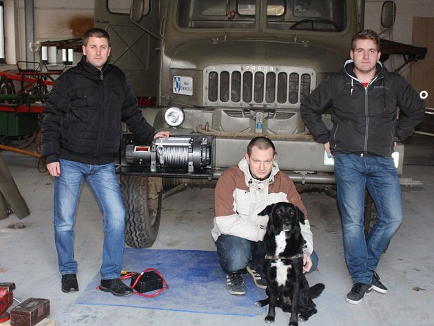 Milan Berčík, Jakub Smiřický, pes VIP a David Režný