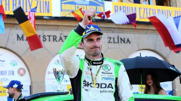 Barum Czech Rally Zlín 2019 - oslavy v cíli