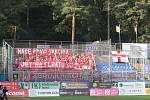 Fotbalisté Zlína (ve žlutých dresech) ve 3. kole FORTUNA:LIGY přehráli Zbrojovku Brno 3:1