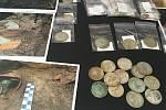 V Muzeu jihovýchodní Moravy ve Zlíně ukázali poklad z roku 1636, který byl nalezen letos v květnu.