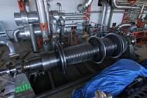 Rotor, který je součásti technologie zajišťující výrobu tepla a elektřiny ve Zlíně, dorazil po opravě do krajského města.
