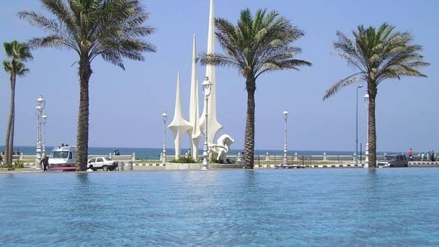 Egyptská Alexandrie.