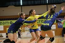 Interligové házenkářky Zlína v sobotní dohrávce 6. kola doma nestačily na mistrovské Michalovce (23:38).