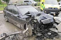 Nehoda v Hošťálkové