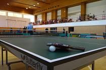 Stolně tenisový turnaj Slavičín. Ilustrační foto