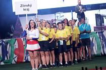 Trampolínistka Juříčková vlajkonoškou výpravy našeho kraje