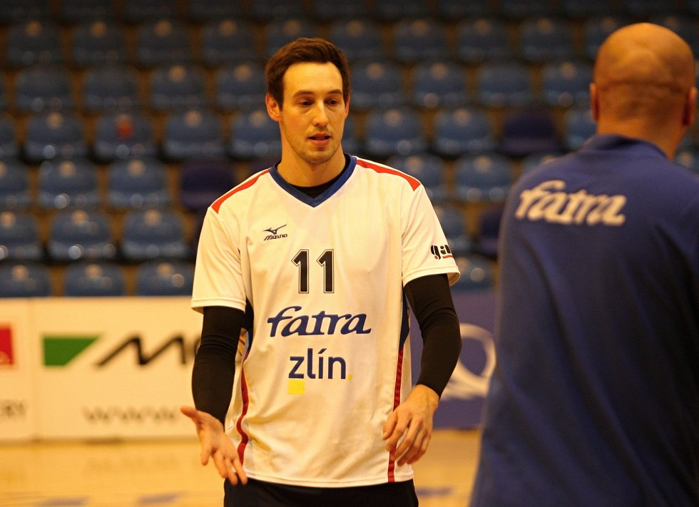 Vojtěch Navláčil během domácího poháru.