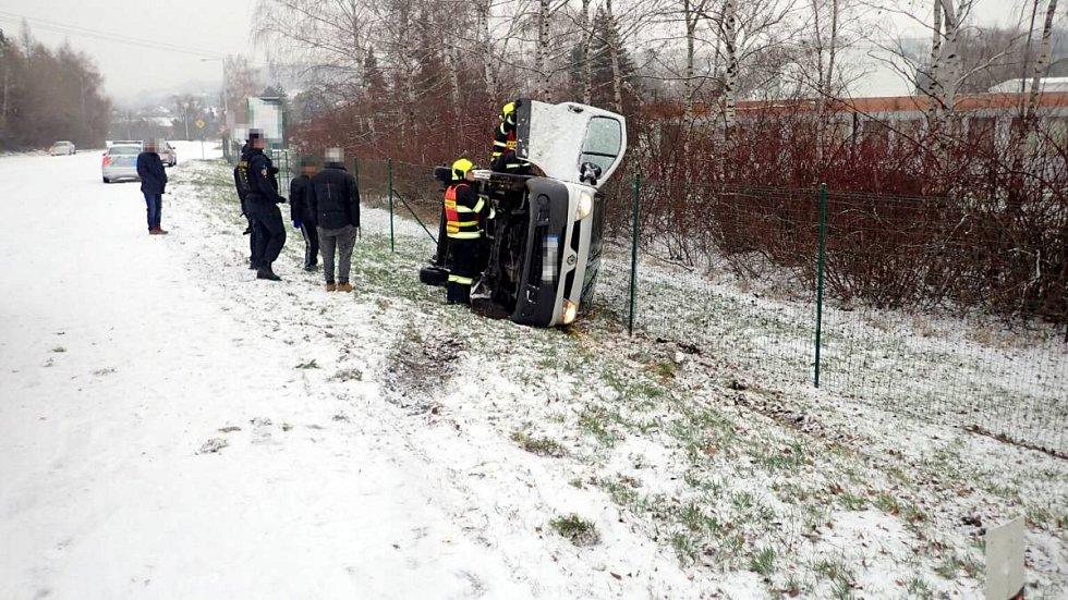 Nehoda ve Slušovicích, 7.12.2019