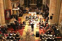 Koncert Moravanky ve štípském chrámu