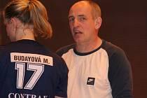 Naposledy v kategorii žáků se v jednom týmu potkal trenér Milan Buday se svou dcerou Michaelou.