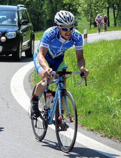 cyklista FORCE KCK Cykloteamu Zlín Michal Hradil