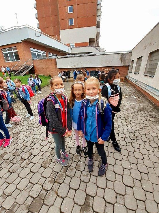 První školní den ve školách na Zlínsku. 1. září 2021