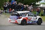 Tomáš Kostka oslavil vítězství v 22. ročníku Rallysprintu Kopná.