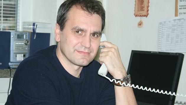 Předseda KFS Zlín Vlastimír Hrubčík.