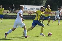 Mladí ševci (ve žlutých dresech) v 7. kole MSFL podlehli béčku Baníku Ostrava 2:3.