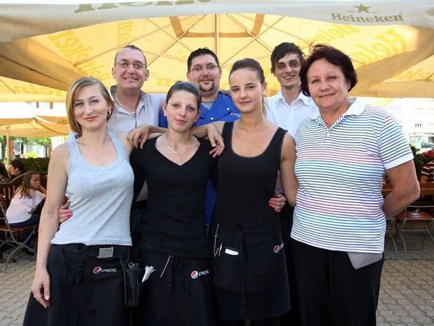 Hubert Rýc se může spolehnout na stabilní a zodpovědný tým spolupracovníků.