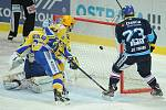 Hokejisté Vítkovic porazili v 28. kole extraligy Zlín 4:2.