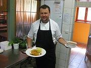 Hotel Vyhlídka - v hotelové kuchyni.