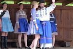 Folklorní vystoupení potěšilo v luhačovické místní části Kladná Žilín.