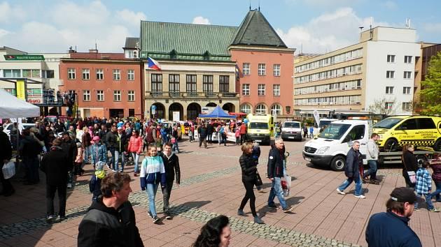 Czech drive v centru Zlína. Ilustrační foto