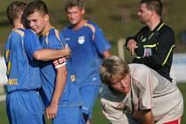 Kapitán vizovických fotbalistů Martin Laciga i přes nabídky zůstává v klubu. Góly by měl pomoct k záchraně.