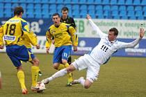 Baník Ostrava - FC Fastav Zlín. Ilustrační foto.
