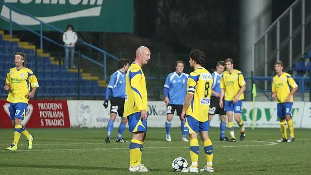 Fotbalisté Tescoma Zlín. Ilustrační foto