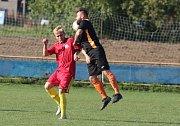 Fotbalisté Louk doma v 7. kole krajské I. B třídy skupiny B podlehli Přílukám 1:2 na penalty.