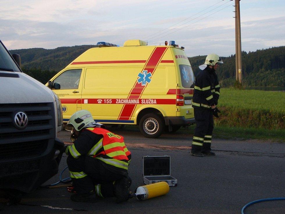Tragická nehoda u Hrobic na Slušovicku