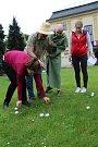 Festival Culturea nabídl v úterý 28. dubna 2015 turnaj v pétanque, který se konal v parku u zlínského zámku.