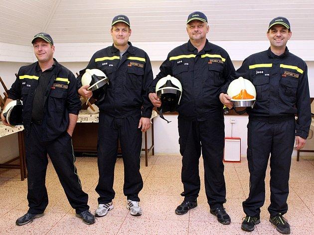 Sbor dobrovolných hasičů z Pozlovic.
