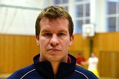 Futsalový trenér David Frič.