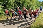 Běh na 2 míle ve Zlíně, červen 2020