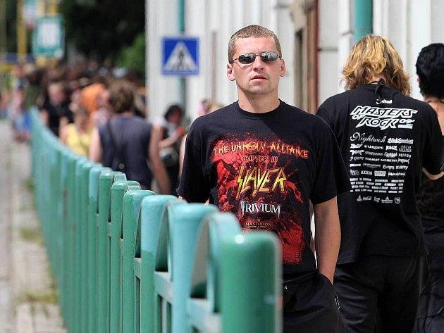 Fanoušci na vizovickém Masters Of Rock
