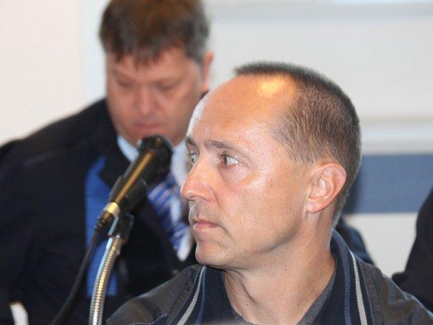 Petr Čagan u krajského soudu ve Zlíně.