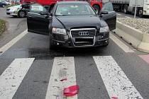 Nehoda na přechodu v Napajedlích