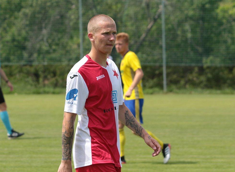 Fotbalista Ondřej Otepka v létě zkoušel štěstí v Kroměříži, hrát ale bude v Provodově.
