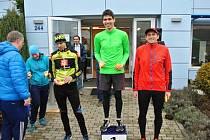 Běh na 2 míle ve Zlíně. sobotní vítěz Andrej Višněvský