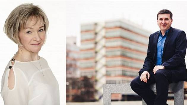Michaela Blahová (KDU-ČSL) a Tomáš Goláň (BEZPP). Kandidáti na senátora