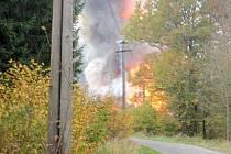 Výbuch ve Vrběticích.