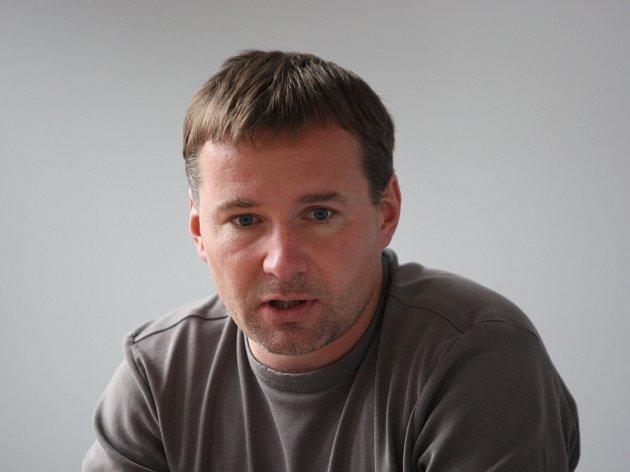 Sportovní manažer hokejistů Zlína Jiří Šolc.
