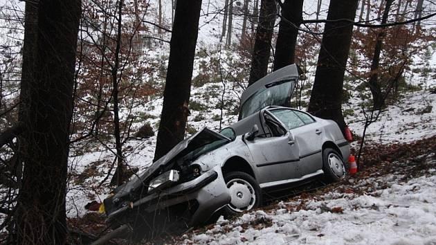 Smrtelná dopravní nehoda u Březůvek.